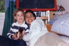 Gabrielle et Carolina, sa jeune fille mexicaine au pair à Paris