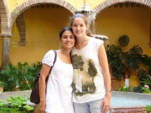 Gabrielle et Carolina, 15 ans après au Mexique