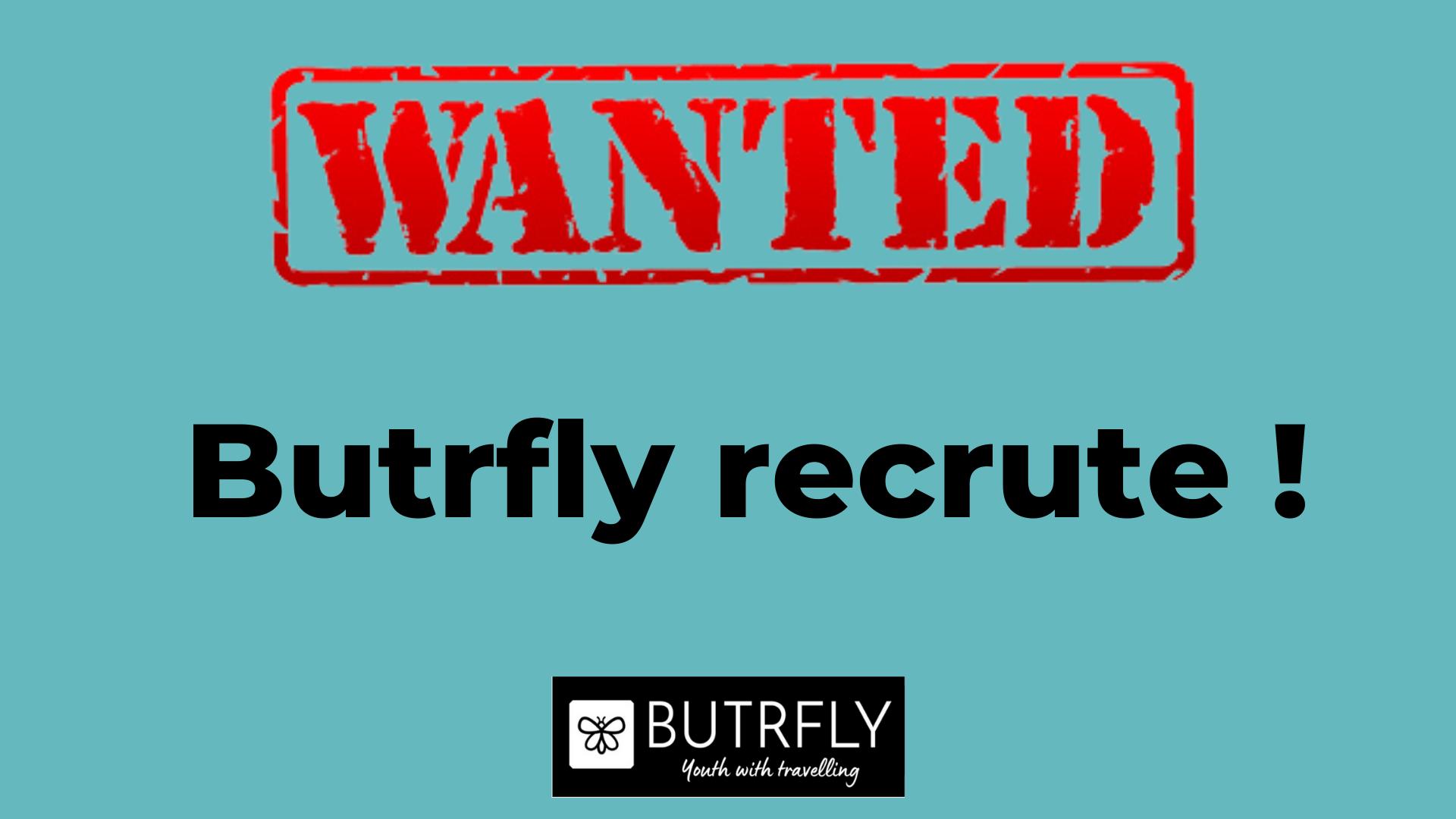 butrfly recrute
