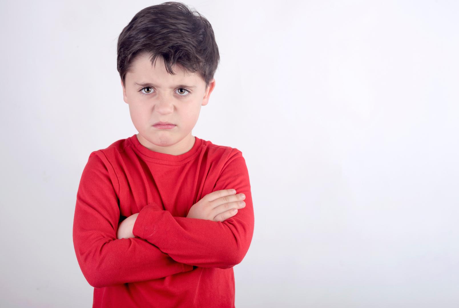 enfant fâché butrfly