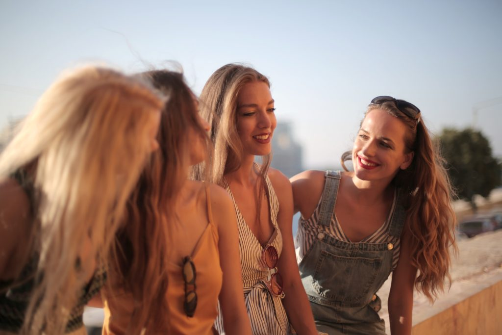 take a gap year from school and meeting people from all around the world!